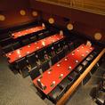 【バンケットルーム・最大55名様】大型モニターやマイクなど、映像・音響設備充実のバンケットルーム。懇親会や企業宴会など、大人数様でのご宴会に最適な貸切空間は30名様以上でご利用が可能です。