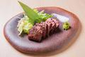 料理メニュー写真牛サガリ炭焼き