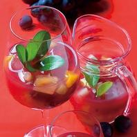 自家製サングリアやスペインワインが豊富!
