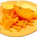 料理メニュー写真まとう鯛のフィッシュ&チップス