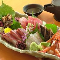毎朝仕入れる新鮮鮮魚