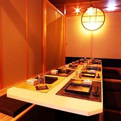 ◆快適プライベート個室!優しい照明が雰囲気抜群の個室席。女子会やデートにお使いいただける大人気のプライベート個室です。女同士でワイワイ、仕事帰りの一杯にぜひご来店ください!※お写真はイメージとなります。