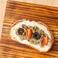 料理メニュー写真ブルスケッタ 〈茄子とアンチョビ〉