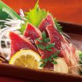料理メニュー写真藁焼きかつおのタタキ
