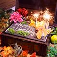 【誕生日特典満載♪】NEWOPEN!大船駅徒歩2分!コースのご予約でメッセージ付デザートプレートプレゼント♪!誕生日にはもちろん、記念日、歓送迎会にも♪完全個室も完備していますのでプライベート利用にぴったり♪サプライズ満点の誕生日・記念日特典!大船での誕生日、記念日は完全個室がある当店で◎