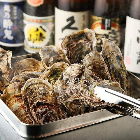 【生牡蠣食べ放題コース】〈2時間飲み放題付き〉5000円→4500円(税抜)
