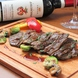 赤ワインと豊富な肉料理