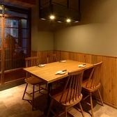 テーブル席はご利用人数に合わせてご用意いたします!2名~4名様・4名~8名様・8名様~12名様までご利用頂けます。レイアウト変更可能です。