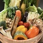 地産地消のお野菜を使用!新鮮な野菜をたっぷりと召し上がれ♪