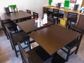 オープンしたばかりの清潔感あふれる店内でお食事をお楽しみいただけます!