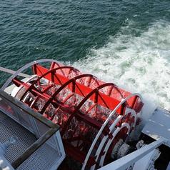 外輪船ミシガンの外観2