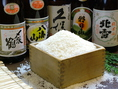 県内酒・県外酒を各種取り揃えております…。