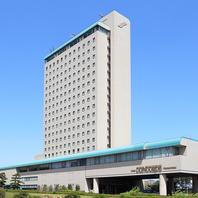 浜松城隣にそびえるホテルコンコルド浜松。