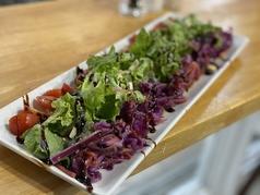 3色野菜のバルサミコサラダ