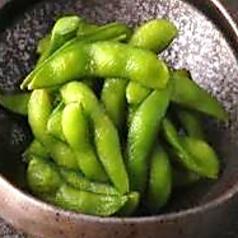 料理メニュー写真塩ゆで枝豆