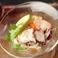 料理メニュー写真タコと小エビ・シアントロ風味のセビーチェ