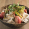 料理メニュー写真黒豚の胡麻しゃぶサラダ
