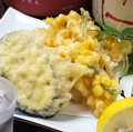 料理メニュー写真季節野菜の天婦羅