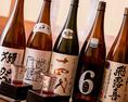 プレミアムからメジャーそして店長お薦めまで日本酒好きにはたまらないラインナップです。