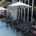 テラス席もご用意しております!開放的な空間で食事をお楽しみください♪