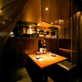 【2名様テーブル席】デートやお仕事帰りのちょっとした飲み会に最適です。