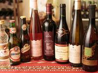 海外旅行の気分を楽しめる本場のビールやワイン