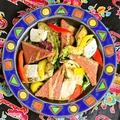 料理メニュー写真焼きアボカド&SPAM&チーズ