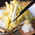 料理メニュー写真きびなごの天ぷら