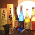 四合瓶は、佐渡のお酒【北雪YK】や新之助を使用した【越乃白雁】など珍しいお酒を楽しめます!