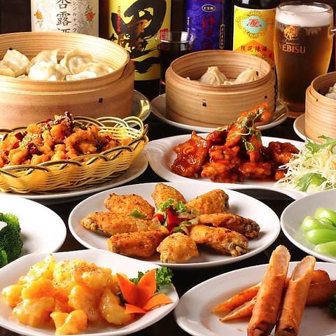 コスパに大満足♪満腹中枢を刺激する、本場中国料理人が丹精込めてご提供!