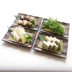 料理メニュー写真各種 野菜単品