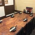 6名様までご利用可能なテーブル席です