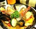 料理メニュー写真Anzu-ki風 魚介のパエリア(2人前)