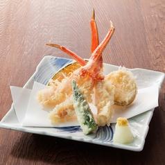 料理メニュー写真■ずわい蟹天麩羅