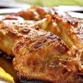 料理メニュー写真骨付き鶏ももの塩焼き