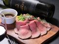 料理メニュー写真低温調理!!道産牛のローストビーフ