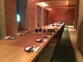 70名様規模雰囲気抜群の完全個室お座敷席です。会社宴会、飲み会、歓送迎会はもちろん!イベントの打ち上げ等団体様にご好評いただいております。