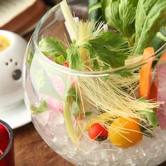 料理メニュー写真旬の野菜のフォレストバーニャカウダ