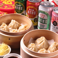 【食べ放題で台湾満喫】小籠包含む屋台メニュー♪