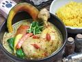 料理メニュー写真チキンのスープカレー