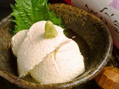 料理メニュー写真豆藤のザルの豆富