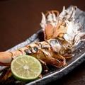 料理メニュー写真海老の塩焼き