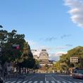 各姫路駅から徒歩7~15分。