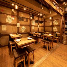 貸切は18名様~最大35名様までご利用いただけます。お得な肉寿司コースは、各種ご宴会に最適です。門前仲町でご宴会するならぜひ当店をご利用くださいませ。