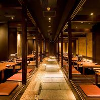 【完全個室】最大60名様までOK。京橋駅での宴会に!