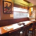 テーブルどうしを隣り合わせて8名様までOK★梅田で焼き鳥ランチの人気店!