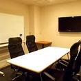 会議室としてはもちろん、宴会の控室にも◎