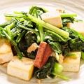 料理メニュー写真チキナーと豆腐のチャンプルー