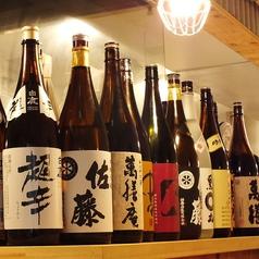 お酒の種類も豊富です。活気の良い店内で美味しいお料理をお楽しみください! ※画像は系列店イメージ