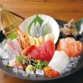 料理メニュー写真海鮮十種盛り合せ